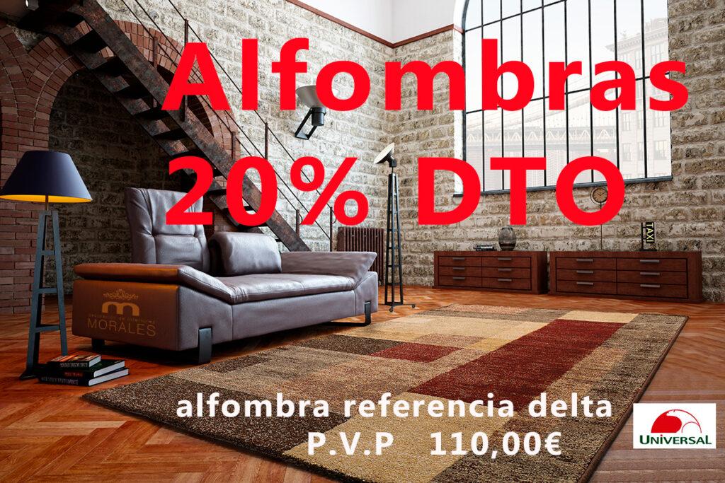 ALFOMBRAS 20% DESCUENTO