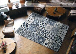 alfombra indigo