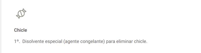 LIMPIEZA EN ALFOMBRAS DE CHICLE